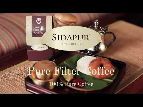 Sidapur - Pure Filter Coffee - 100% Pure Coffee