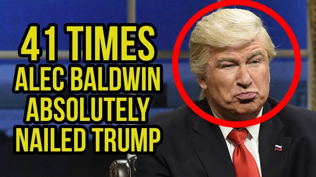 Download #TBT - 41 Times Alec Baldwin Absolutely Nailed Trump