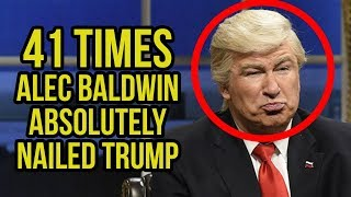 #tbt - 41 Times Alec Baldwin Absolutely Nailed Trump