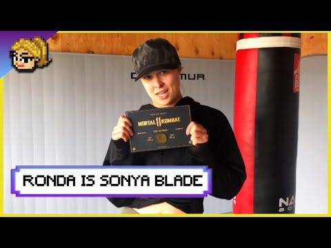 Ronda Rousey Is... Mortal Kombat 11's Sonya Blade!