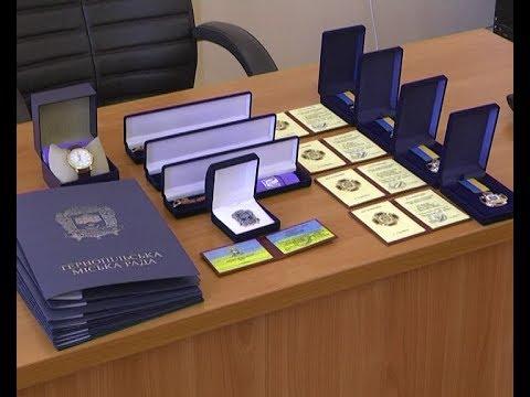 Телеканал ІНТБ: У Тернополі нагородили спортсменів