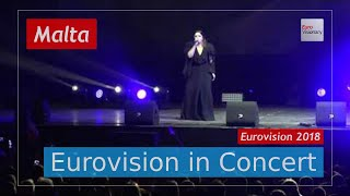 Malta Eurovision 2018 Live: Christabelle - Taboo - Eurovision in Concert - Eurovision Song Contest