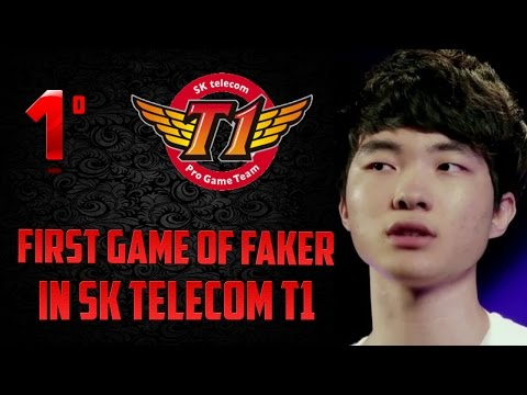 Faker's First Competitive Game