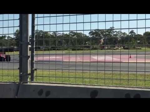Formula 1 on track at the AMF