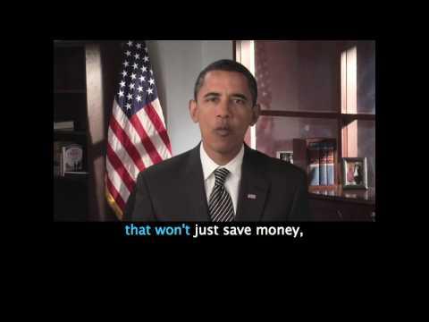 Barack Obama's Jan. 10 Address (CAPTIONED) y en Español