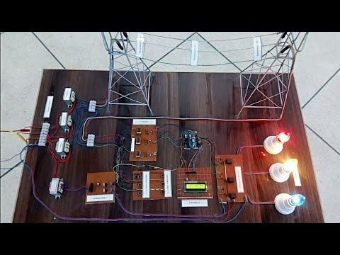 Three Phase Transmission line fault detection and analysis system in urdu/Hindi