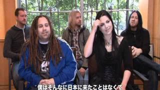 2012年2月に来日公演を行ったエヴァネッセンス EMIミュージックが実施し...