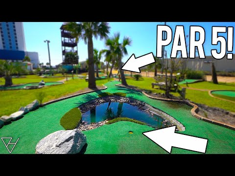 We Have Never Seen Mini Golf Holes Like This!