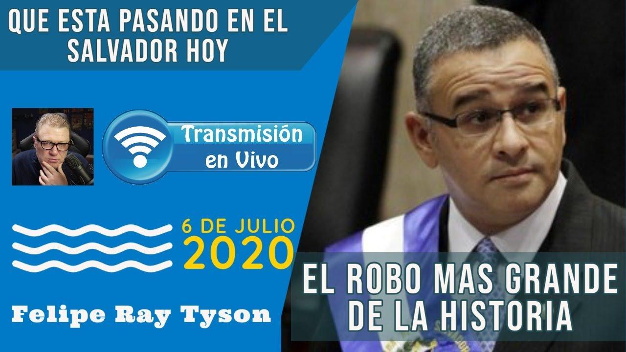 El Salvador HOY EN VIVO - El Robo Mas Grande de La Historia de El Salvador