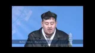 Jalsa Salana Qadian 2012 3RD Day 1ST Session Rofat Zehan Sahib during his introductory speech