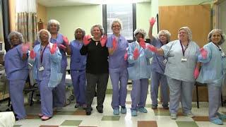 Mercy Health System Pink Glove Dance 2015