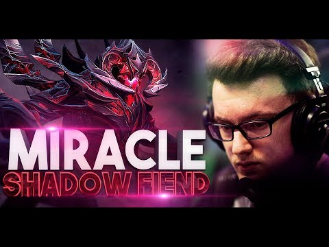 Miracle- EPIC Shadow Fiend Gameplay Compilation - Best Of The Best Dota 2