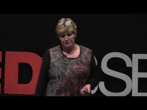 Never give up | Annika Östberg | TEDxSSE