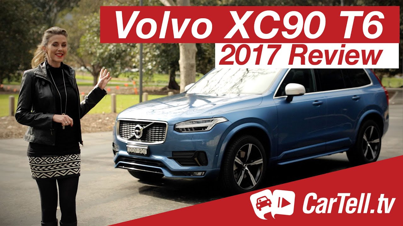 Volvo XC90 T6 2017 Review