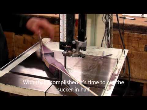 Eclipse Archery - making a takedown Polaris recurve Part 3