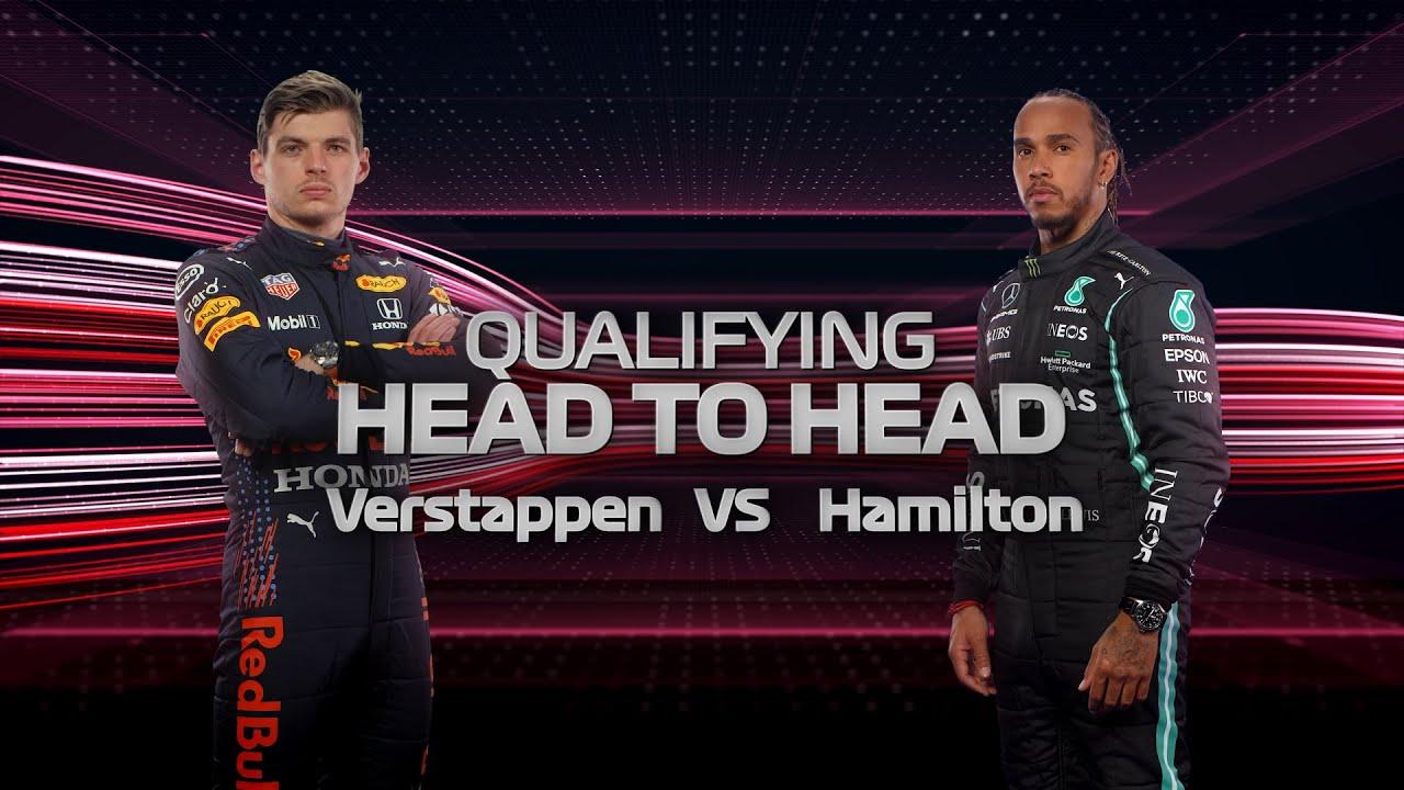 Qualifying Head To Head   Verstappen Vs Hamilton   2021 French Grand Prix