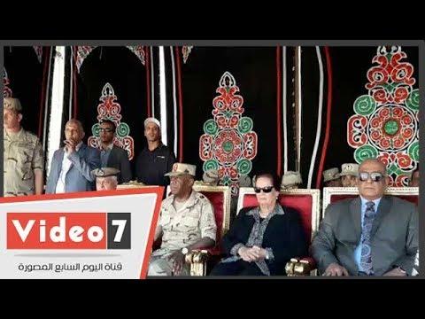 محافظ البحيرة و قائد قوات الدفاع الشعبى يتفقدان معسكرات الإغاثة والايواء بدمنهور  - 17:22-2018 / 7 / 16