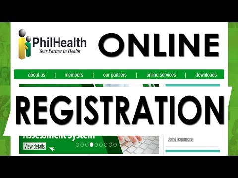 How To Do Philhealth Online Registration - Check Contributions