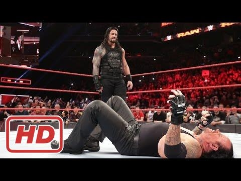 WWE Roman Reigns vs Undertaker Full Match HD 2017 - Wrestlemania 33