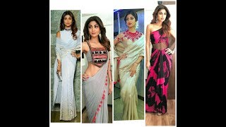 Get inspired from shilpa shetty😍sarees draping idea😍sexy look