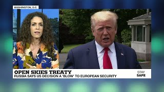 Open Skies Treaty: Us Says It's Pulling Out Of Arms Control Deal