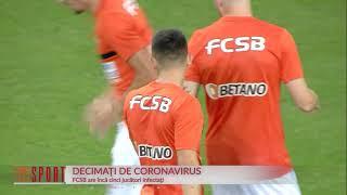 Panică la FCSB: Încă 5 jucători au coronavirus