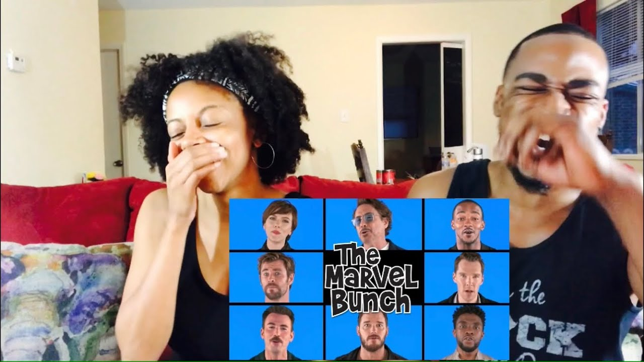 "Avengers: Infinity War Cast Sings "" Marvel Bunch "" ( Th&Ce Reaction) - YouTube"