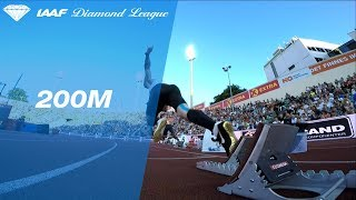 Ramil Guliyev Wins Men's 200m - IAAF Diamond League Oslo 2018