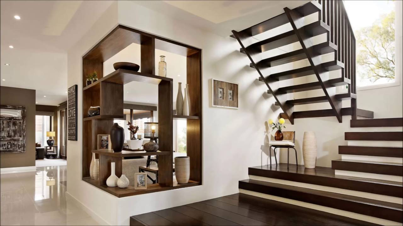 Modern design for stairs ideas youtube - Ideal staircase ideas small interiors ...