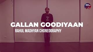 Galla Goodiyaan Hook Step Tutorial   Dil Dhadakne Do   Rahul Madhyan Choreography