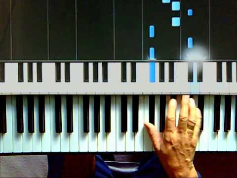 how to play halo on piano for beginners