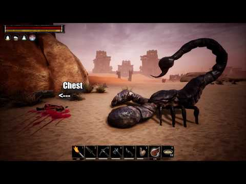 Conan Exiles World Boss And Loot Chest Locations