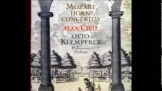 Civil plays Mozart - Horn Concerto No. 4 in E flat major, K. 495 [Part 1/2]