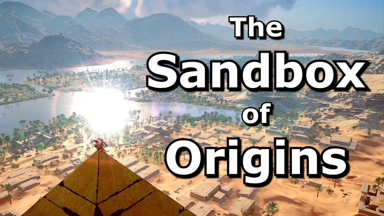 The Sandy Sandbox of Assassin's Creed Origins