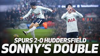 Download HEUNG-MIN SON'S DOUBLE! | Spurs 2-0 Huddersfield Mp3 and Videos