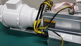 Download Simple Miner Cooling System Sound Proof Box