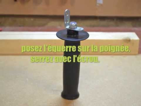 fabrication d 39 une poign e pour cam ra gopro youtube. Black Bedroom Furniture Sets. Home Design Ideas