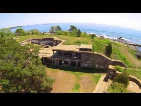 Fort Stark, New Castle, New Hampshire, USA. Music: Gordon Lightfoot, Protocol