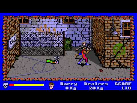 ATARI ST operation cleanstreets CLEAN STREETS AKA MANHATTAN DEALERS SILMARILS 1989 Automation 168