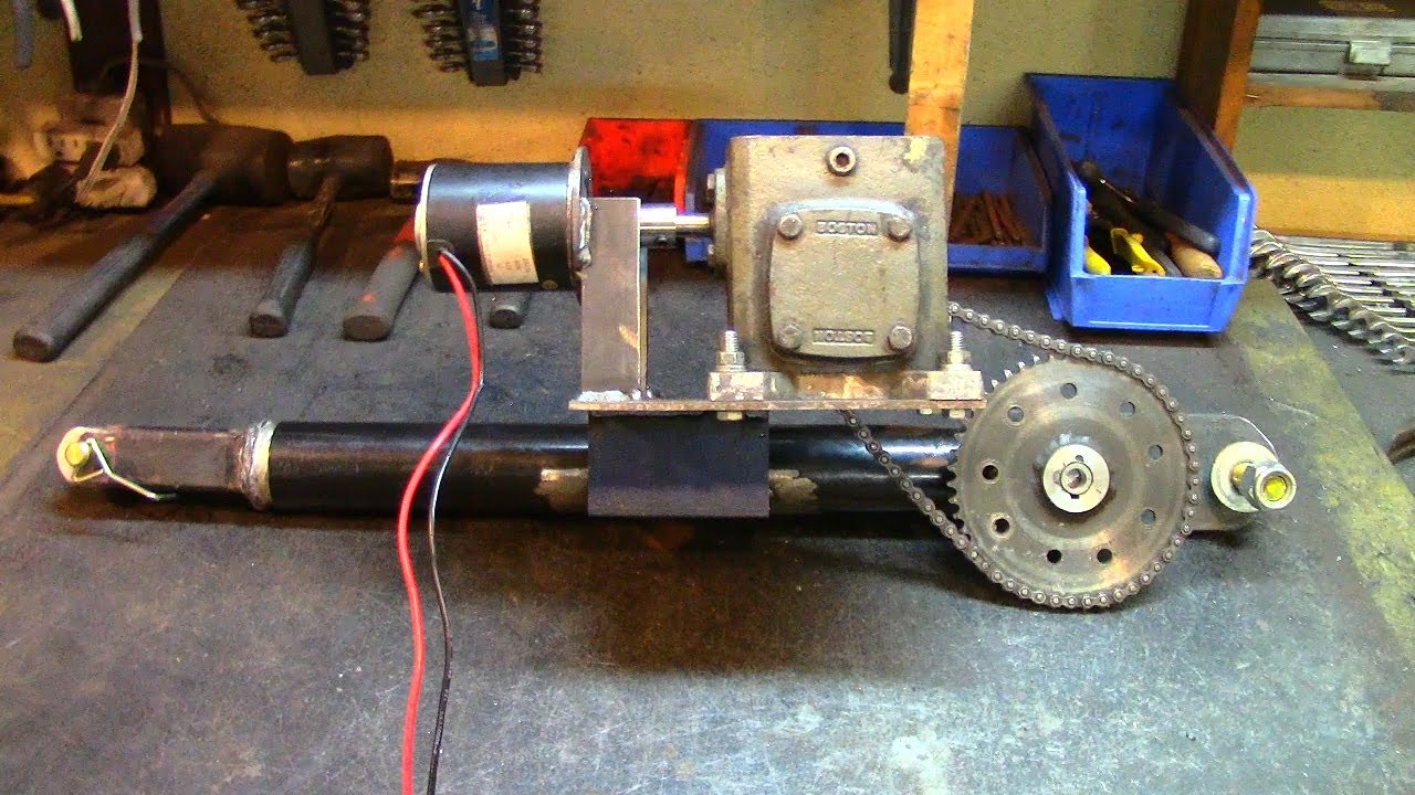 Part 2  Electric Utility Hoist  Engine Hoist  Gearbox Mounting