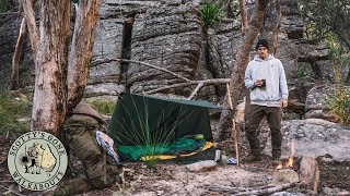 Overnight Aussie Winter Bushcraft Camp