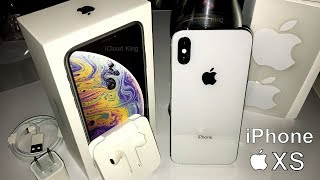 Apple iPhone XS, Silver, 256GB & XS MAX Unboxing and Review [Special Edition]✅