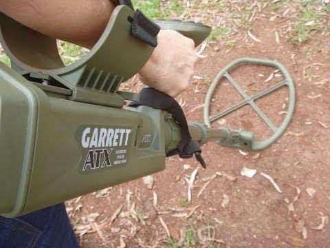 "Garrett ATX: 20"" Deepseeker Monoloop Coil."