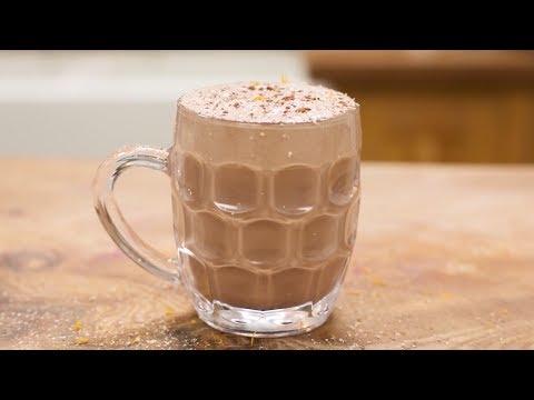 Шоколадный эгг ног от Джейми Оливера. Шоколадный коктейль C ромом..