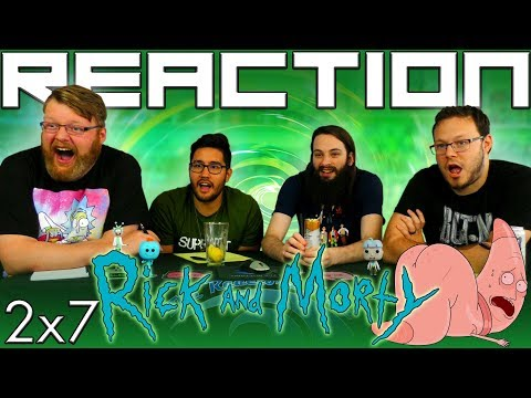 """Rick and Morty 2x7 REACTION!! """"Big Trouble in Little Sanchez"""""""