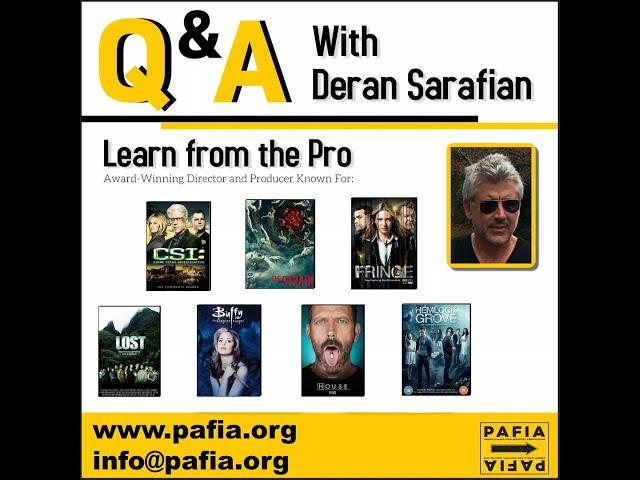 Masterclass with Deran Sarafian
