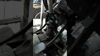 Самодельный трактор с двигателем Ваз.