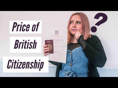 Price Of British Citizenship (MY COST BREAKDOWN)