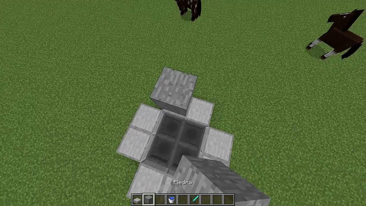 Minecraft como hacer una granja de experiencia sin for Como hacer una granja de peces