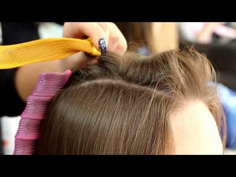 Как накрутить волосы на спиральные бигуди